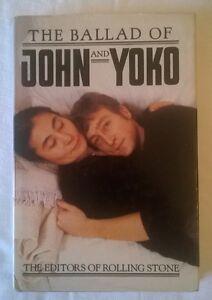 JOHN LENNON - The Ballad of John and Yoko - Rolling Stone editors 1982 PRIMA ED. - Italia - JOHN LENNON - The Ballad of John and Yoko - Rolling Stone editors 1982 PRIMA ED. - Italia