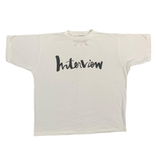 "Vintage Interview Magazine ""Andy Warhol"" T-Shirt R"