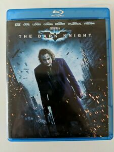 The-Dark-Knight-Blu-Ray-2-Disc-2010-Like-New-Fast-Ship-Heath-Ledger-Bale-batman