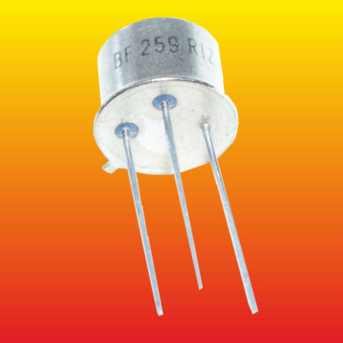 BF259 LOT OF 3 SILICON NPN TRANSISTORS 0.5W 0.1A ~KT604B