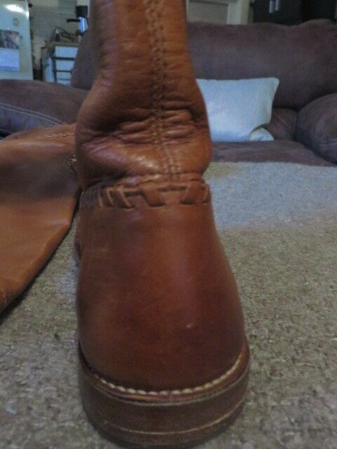 FRYE COGNAC WHIP STITCH SIZE RIDING Stiefel SIZE STITCH 7 1cff07