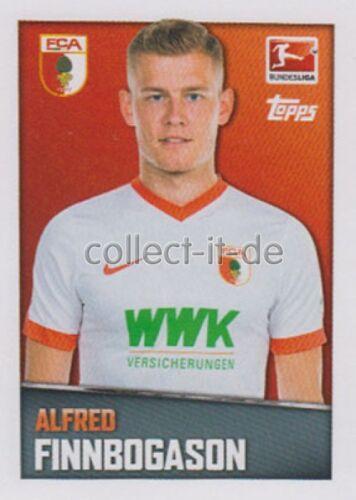 Alfred Finnbogason Sticker 23 TOPPS Bundesliga 2016//2017