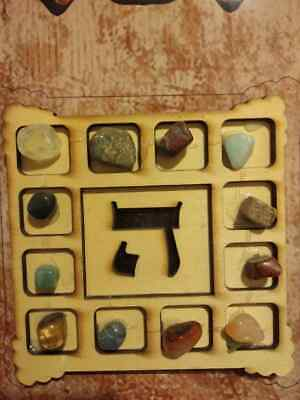 Hoshen High Priest Jewish Breastplate Stones Temple Bible Ruby