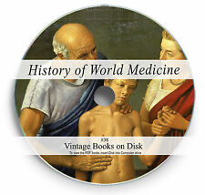 History of World Medicine Rare Books on DVD Ancient Natural Cures Herbalism 38
