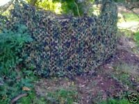 5m Pro 3ply Stealth Ghost Camo Net Pigeon Hide Shooting