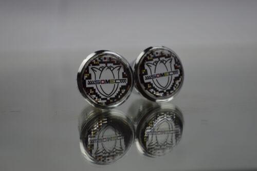 Somec silver Plugs Caps Topes Tapones guidon bouchons lenker endkappe Tappi 3D