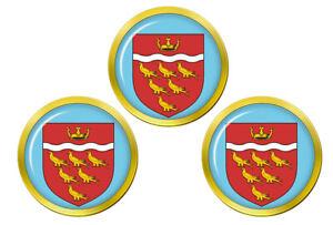 Est-Sussex-Angleterre-Marqueurs-de-Balles-de-Golf