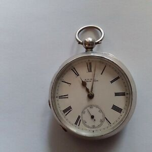 Waltham 1877 martyn square ,waltham mass ,sterling silver case,size 18