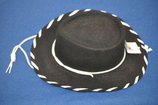 aff725e5c5a03 Eddy Bros. Kids Woody Cowboy Hat S Black for sale online