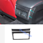 Real Carbon Fiber Rear Air Vent Outlet Cover Trim For LEXUS IS200T//250//350 13-18