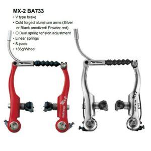 Pair DIA-COMPE MX-2 BA733 Brake Caliper Red Front /& Rear