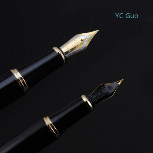 Jinhao 1200 Dragon Clip Fountain Pen Medium Nib Silver