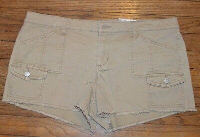 Mudd Shortie Low Rise Short Juniors Cargo Utility Shorts Size 15 Size 17