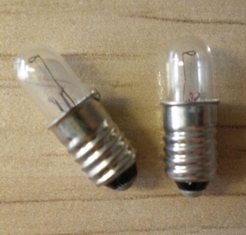 20 x Ampoule e5 1 W 12 V 1 W lampes de Noël chandeliers Ampoules Lampe
