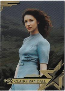 Cryptozoic-Outlander-CZX-BLACK-Str-Pwr-Star-Power-Card-Claire-Randall-S02-1-1