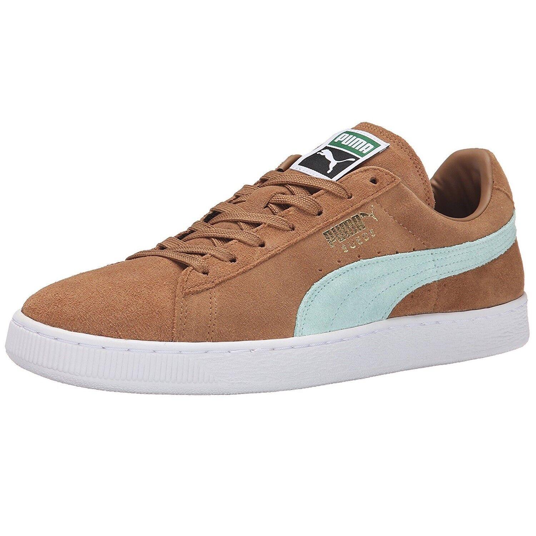 PUMA SUEDE CLASSIC - Zapatillas casual para hombre claro y mujer color marrón claro hombre 344320