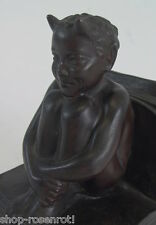 antike Bronze Satyr - Teufel -  Lorenzl