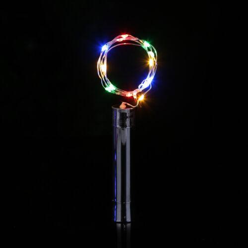20 LED Bottle Lights Cork Shape Lights for Wine Bottle Starry String Lights Xmas