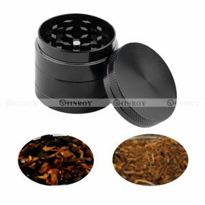 4-Layer-Zinc-Alloy-Tobacco-Grinder-Hand-Crank-Herb-Smoke-Mill-Spice-Crusher-40mm