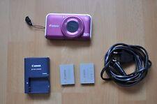 Canon PowerShot SX210 IS 14,1 MP Digitalkamera in Lila Fotoapparat Camera