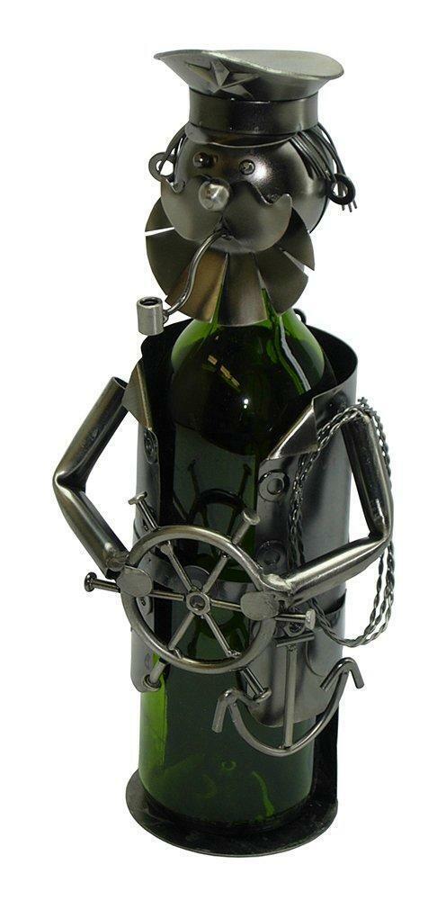 (D) Porte Bouteille Vin, marin avec volant, bar comptoir Décoration