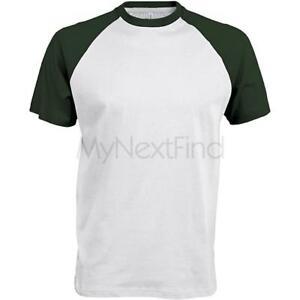 Kariban-Baseball-Contrast-T-Shirt