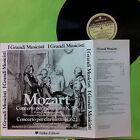 MOZART LP CONCERTO K 595 VINILE D'EPOCA COLLEZIONE MUSIC CLASSICA OPUSCOLO FOTO