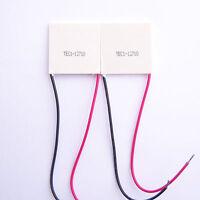 New 2 PCS TEC1-12710 TEC Thermoelectric Cooler Peltier 12V 40mm