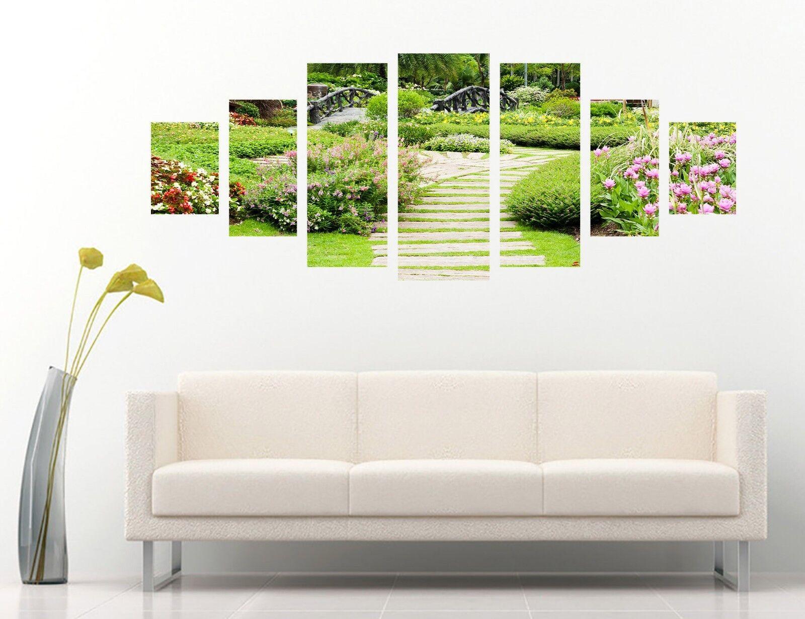 3D Garden Trail 68 Unframed Print Wall Paper Decal Wall Deco Indoor AJ Wall