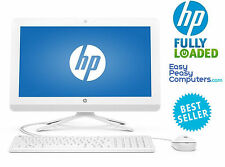 "HP All in One Computer 24"" Windows 10 8GB 1TB Webcam DVD+RW WiFi (FULLY LOADED)"