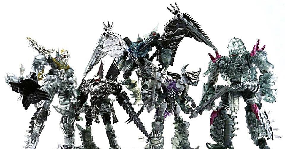 Transformers Age of Extincion Platinum Edition Dinobots Unleashed Loose Set