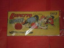 ALBI TASCABILI di TOPOLINO-STRISCIA N° 149-a-prima 1° SERIE originale del 1951