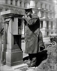 White House Police Call Box Photo - Washington DC 1915