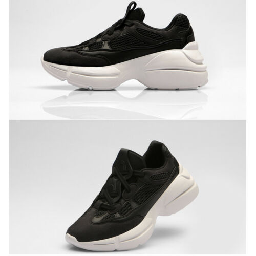 Paperplanes Womens Ugly Shoes Tall Up Trainers Athletic Sneakers 1474