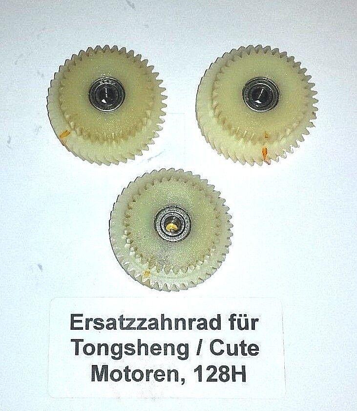 Ersatzzahnräder für Tongsheng   Cute Motoren, 128H