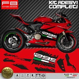 Adesivi-Stickers-Kit-Ducati-1299-Panigale-Corse-FACILE-APPLICAZIONE-ALTA-QUALITA