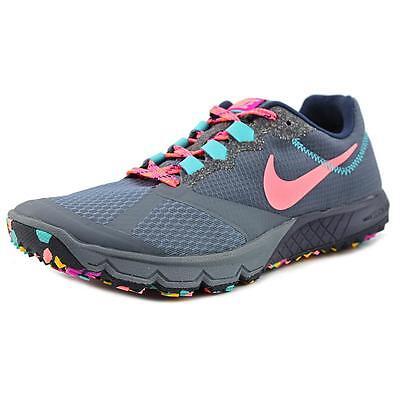 Nike Air Zoom Wildhorse 2  Women  Round Toe Synthetic Gray Running Shoe