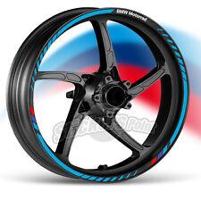 kit Adesivi moto BMW Motorrad strisce RACING9 cerchi ruote stickers label
