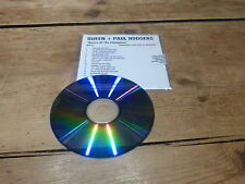 QUEEN + PAUL RODGERS - RETURN OF A CHAMPION CD1!!!!MEGA RARE FRENCH PROMO CD!!