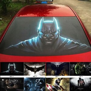 D Transparent Car Back Rear Window Decal Vinyl Sticker Monster - Rear window decals for vehicles