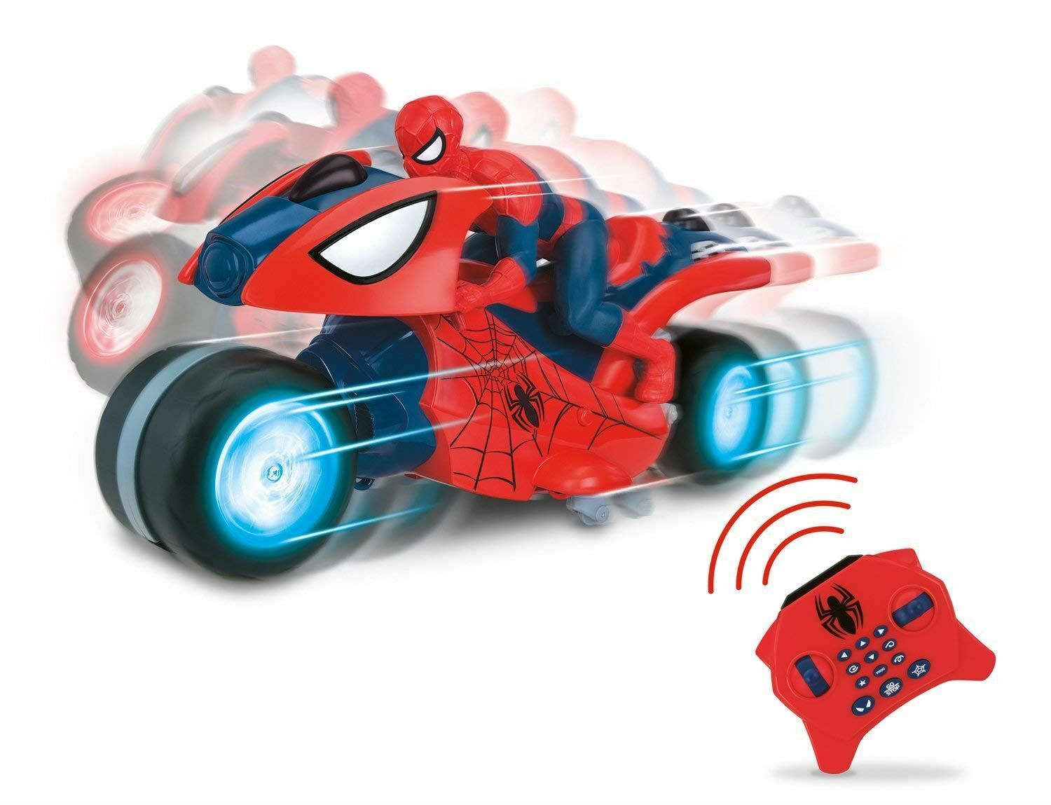 Marvel RC RC RC U Command 20608 Ultimate Spiderman Motorcycle Toy 9e740a