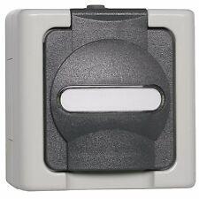 Steckdose, 1-fach IP44 AP/FR Auf Putz Feuchtraum * KOPP BLUE ELECTRIC