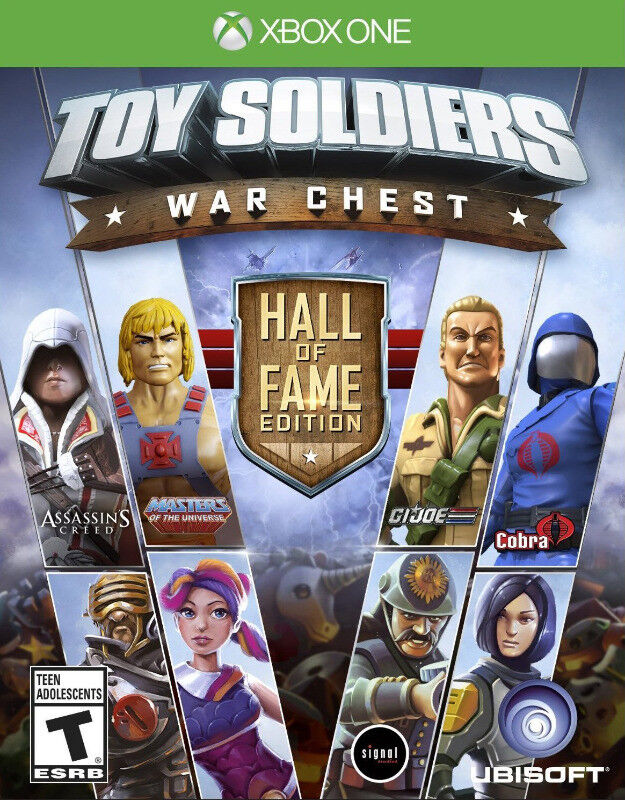 Xbox One Toy Soldiers: War Chest - Hall of Fame Edition (brand new)