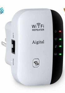 WiFi Extender, Aigital 2.4G Wireless Internet Booster for ...