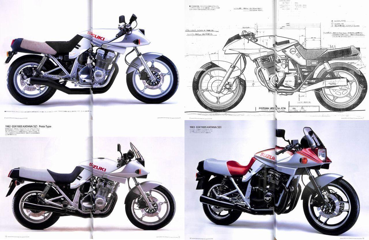 Book Japanese Motorcycles Heritage Suzuki Katana Yoshimura 1135r 1999 Wiring Diagram Norton Secured Powered By Verisign
