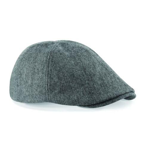 Newsboy Beret Baker Elasticated Mens Gatsby Flat Hat Cabbie Beechfield Ivy Cap