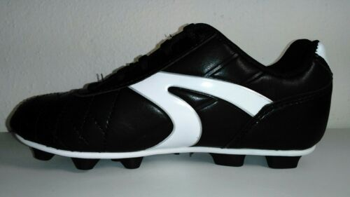 Boys Soccer Cleats Size 12 ~13 ~1 ~2 ~3 ~ 4 ~ 5  Black White ~ Athletic Works