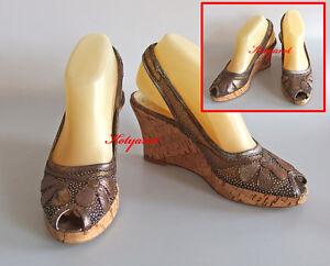 BRUNELLA Schuhe Gr. 36 Leder mit Lack vorne und hinten