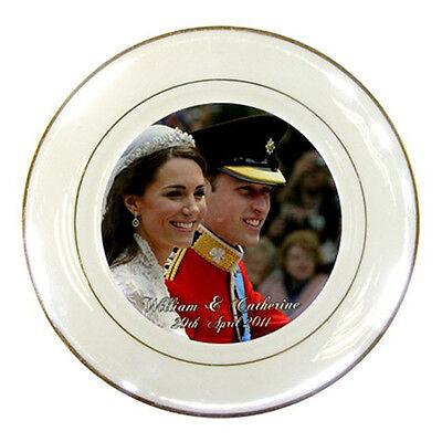 Prince Harry and Meghan Markle Royal Wedding Porcelain Plate #04