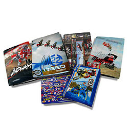 SMOOTH INDUSTRIES BOOK COVERS MOTOCROSS SCHOOL MX PK 6 FMX PRESENT